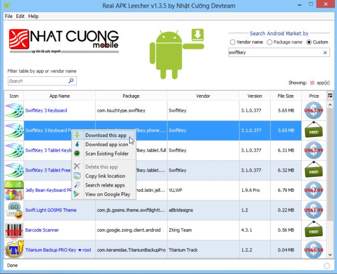 How to Download Android App APKs From Google Play Store To