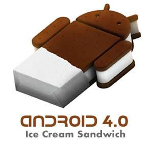 Resultado de imagem para android ice cream sandwich logo